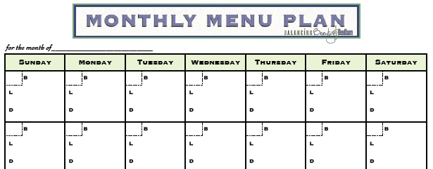 Fail to Plan = $$: My Menu Plan Fail