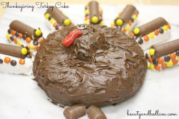 Thanksgiving Turkey Cake (Fun for Kids)