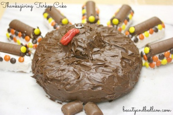 Thanksgiving Turkey Cake (Fun for Kids) - Balancing Beauty and Bedlam