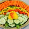 Easy Veggie Tray – (Adorable Turkey)