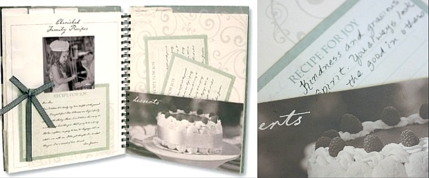 Family Recipe Album  The Perfect Gift: Your Family's Treasured Recipes
