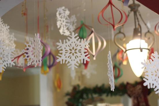 High Impact Low Budget Paper Craft Decorations Jen Schmidt