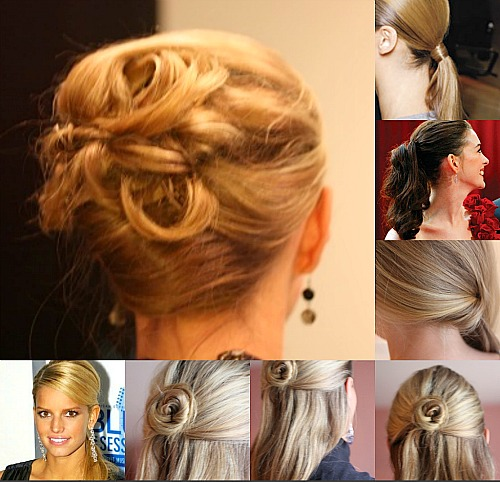 Hairstyles Up Easy : easy up do hairstyles - Balancing Beauty and Bedlam