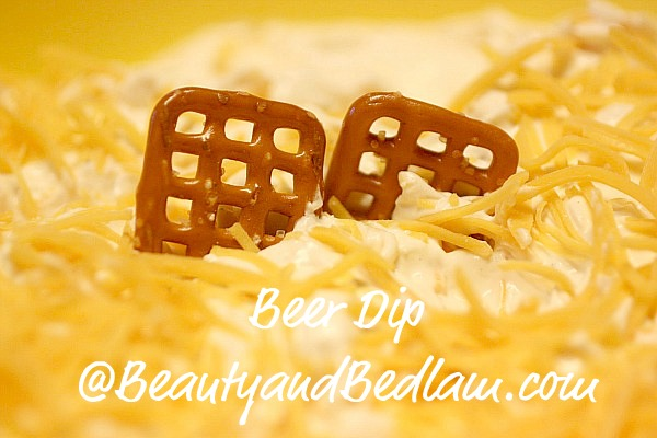 This amazingly addictive Beer Dip is the highlight of our football season (and I don't even like beer.). Perfect with pretzels.