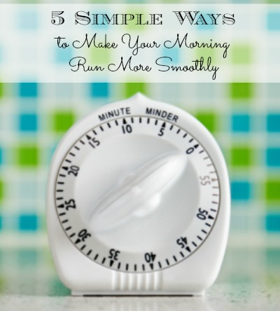 5 Simple Ways to Make Your Morning Run Smoothly