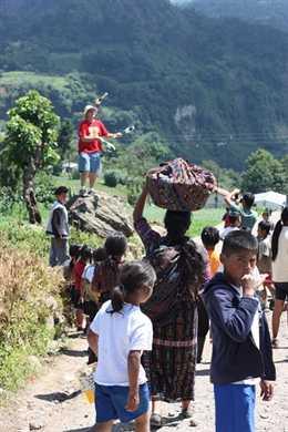 Guatemala village