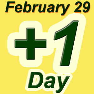 Leap day birthday free giveaways