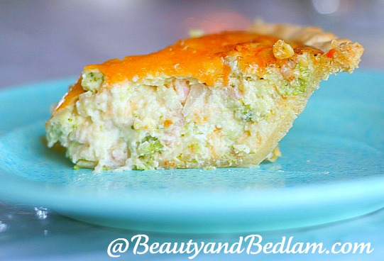 "This quick and easy quiche recipe is so delicious that even the ""Real ..."