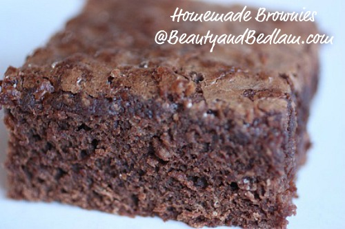 Good Housekeeping's Secret Award Winning Fudgy Brownies