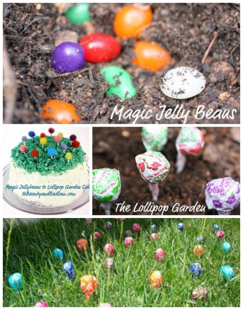 Plant Magic Jelly Beans the night before. Watch the kids amazement as they see what grew over night. Neat tradition can be tied in..