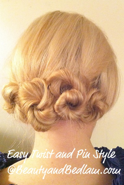 Twist and Pin hair STyle Hair Challenge: Twist & Pin   Perfect style for long and short hair length
