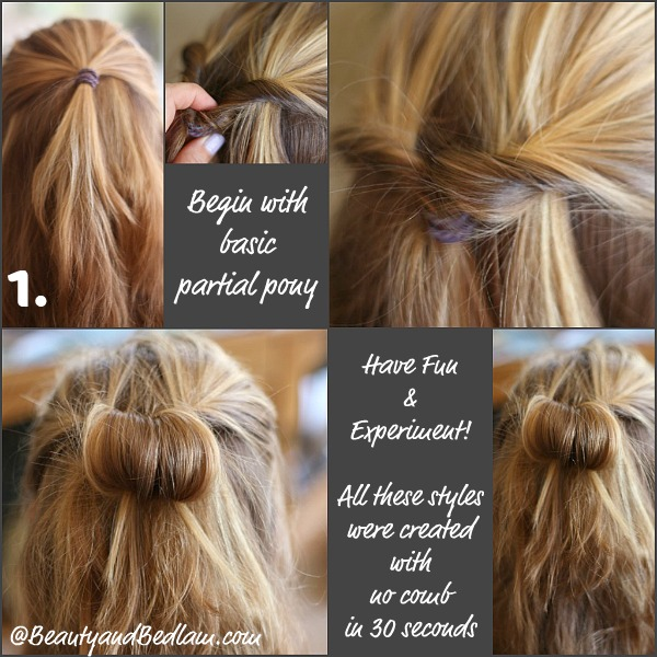 Cool 30 Days 30 Ways Hair Challenge Inverted Pony Tail Styles Jen Schematic Wiring Diagrams Amerangerunnerswayorg