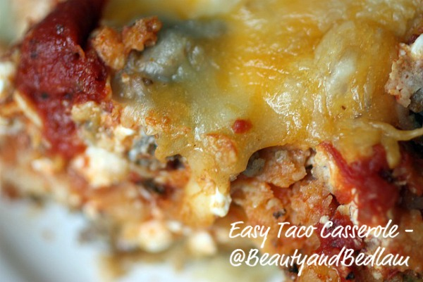 easy taco casserole Taco Casserole Recipe (Our Kids Favorite Family Casserole)