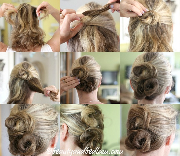 easy twist and pin practice Hair Challenge: Twist & Pin   Perfect style for long and short hair length