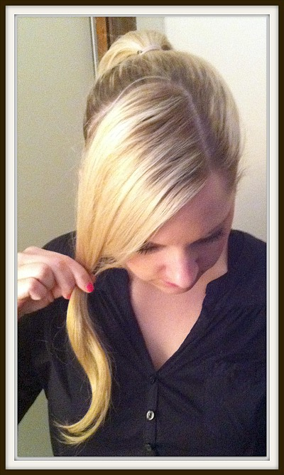 Fanciful Fun Pony Tail for Longer Hair