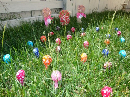 garden 500x375 Magic Jelly Beans & the Lollipop Garden (Easter Tradition)