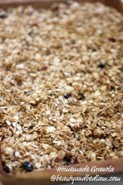 Healthy, Homemade Granola Recipe, Easy Homemade Granola Recipe