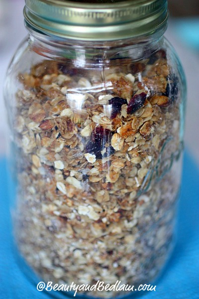 homemade granola Easy, Healthy, Homemade Granola Recipe