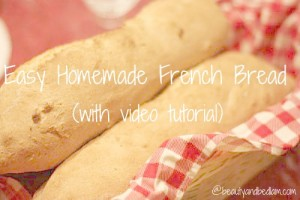 french-bread tutorial