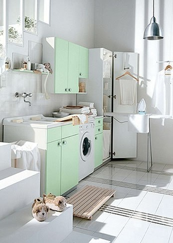 Dream Laundry Rooms vs. Cold, Harsh Reality