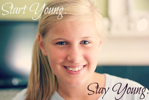 5 Skin Care Tips for Young Girls
