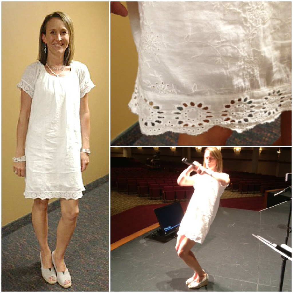 White Eyelet Summer Dress  Cocktail Dresses 2016