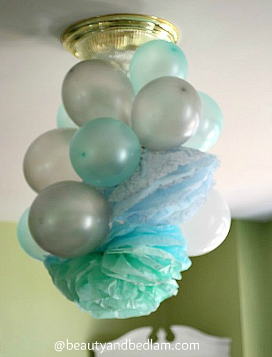 DIY pom poms1 Easy, Elegant Party Decor Ideas