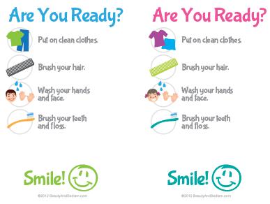 Free Printable Kid Checklist
