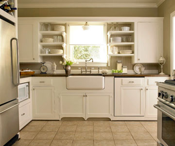 This ... & Sneak Peak at my Kitchen Make Over Solution for Open Shelves | Jen ...