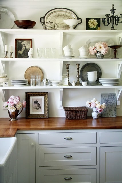 Sneak Peak At My Kitchen Make Over Solution For Open Shelves