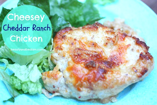 Cheesey Ranch Chicken Cheesey Cheddar Ranch Chicken