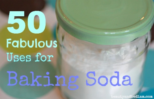 50 Fabulous Uses for Baking Soda. My frugal, miracle product!!