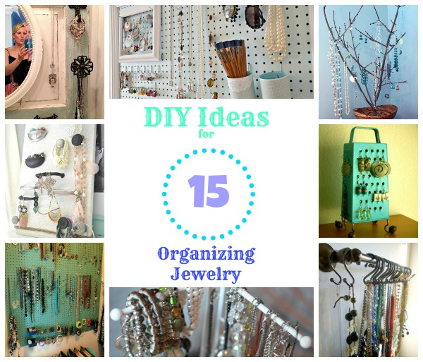 15 fabulous diy jewelry organizers balancing beauty and