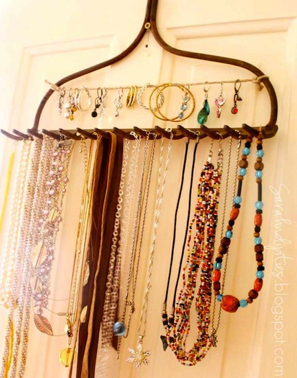 15 Fabulous DIY Jewelry Organizers Balancing Beauty and Bedlam