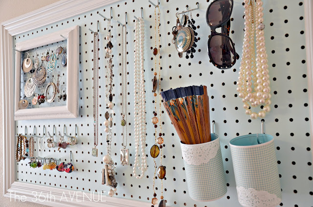 Image Gallery homemade jewelry holder organizer