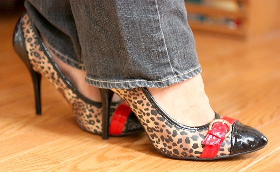 Leopard print heels Fashion, Make Up, Jesus and Me