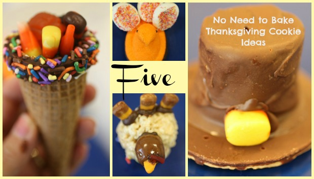 "Thanksgiving ""No Need to Bake"" Cookie & Treat Ideas"