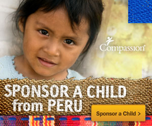 Release a child from Poverty. Sponsor a Child From Peru1 I am Heading to Peru with Compassion International