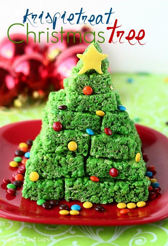 10 Super Fun, Christmas Rice Krispie Treat Ideas | Jen Schmidt