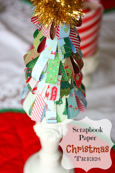 Scrapbook Paper Christmas Tree: Best 10 Minute Craft