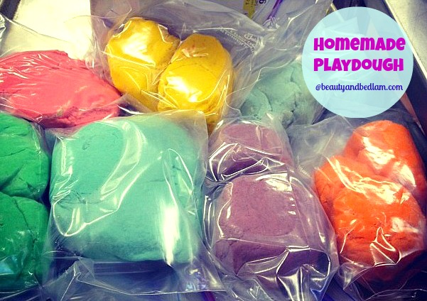 Easy Playdough Recipe (Boredom Busters)