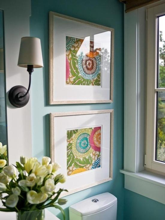 Framed Fabric Art In Minutes Ditto Diy Jen Schmidt