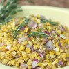 Simple 5 Minute Corn Salad