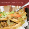 Thai Mushroom Chicken Stir Fry