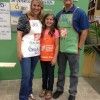 My Home Depot DIH Workshop (& our $100 winner)