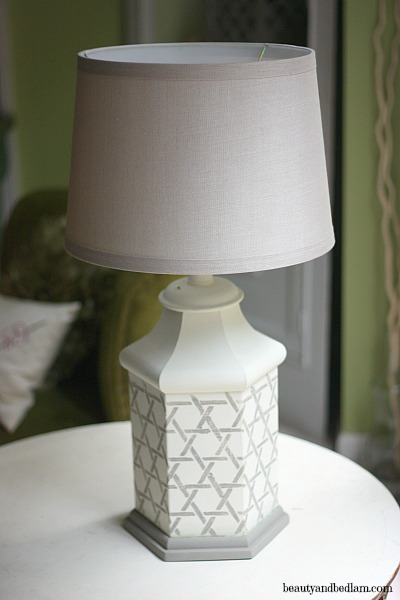 Painting Brass Lamps: Before/After DIY