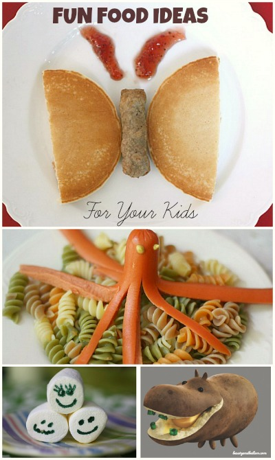 Fun Food Ideas for your Kids Fun Family Food Ideas: Make some Foodimals