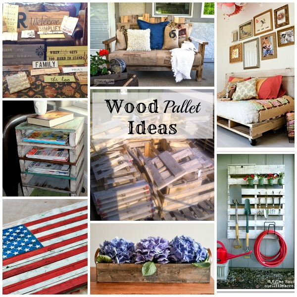 Inspiring Diy Wood Pallet Projects Jen Schmidt