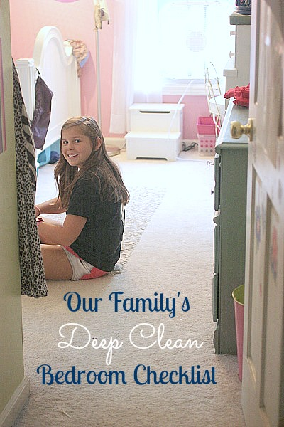 kids 39 deep cleaning bedroom checklist balancing beauty and bedlam