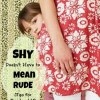 Shy, Tired or Rude? How do we encourage that child?